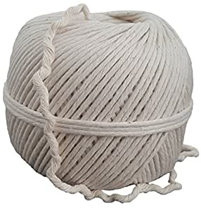 USA Butchers Twine For Cooking, 24ply All Natural Food Grade Kitchen String By Cooking Creations