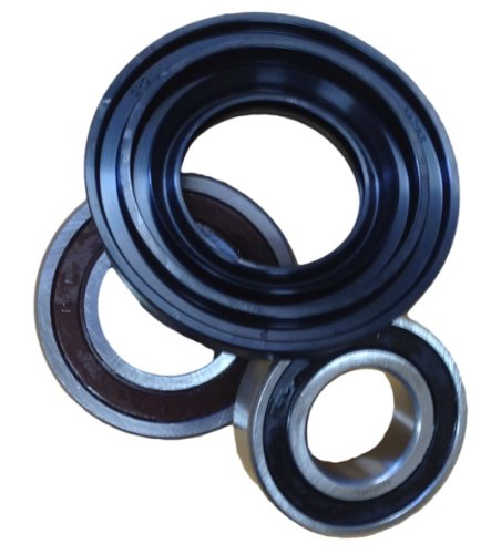 Front Loader Washer Bearings and Seal Kit W10253866, 285983, W10253856, 8181666, AP4426951 Fits Maytag, Amana and Kitchenaid
