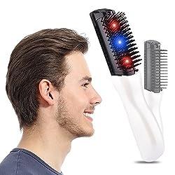 MQ Anti Hair Loss Hair Growth Comb Scalp Massager Electric Regrowth Hair Massager Brush for Men Women