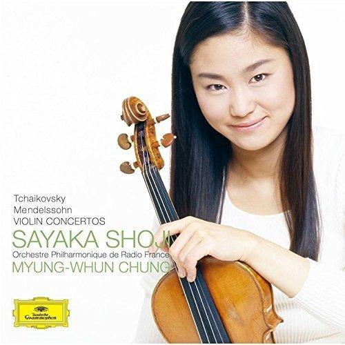 CD : Sayaka Shoji - Tchaikovsky & Mendelssohn: Violin Concerto (Super-High Material CD, Japan - Import)