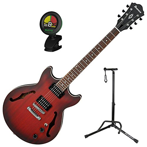 Ibanez AM53 Semi-Hollow Electric Guitar (Sunset Red for sale  Delivered anywhere in USA