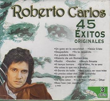 Roberto Carlos 45 Exitos Originales