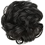 #9: FESHFEN Synthetic Hair Bun Extensions Messy Hair Scrunchies Hair Pieces for Women Hair Donut Updo Ponytail