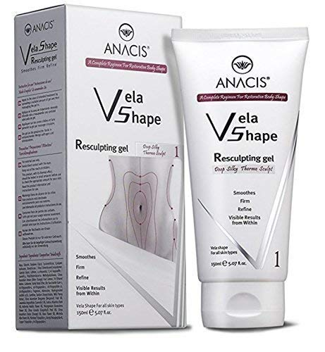 Body Sculpting Gel (Anti Cellulite Cream Firming Resculpting Gel Exclusive Body Toning Hot Thermo Treatment. Anacis - 5.07 Oz)