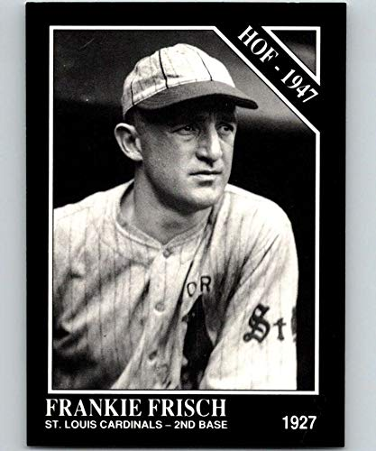 1991 Conlon Collection #11 Frankie Frisch HOF NM Baseball MLB Cardinals