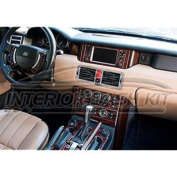 Land Range Rover Mkiii Mk 3 Interior Burl Wood Dash Trim Kit Set 2003 2004 Automotive