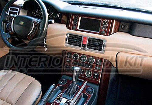 Land Range Rover Mkiii Mk 3 Interior Burl Wood Dash Trim Kit Set 2003 2004 Buy Online In Uae