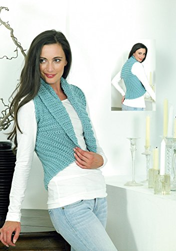 Stylecraft Ladies Waistcoat Weekender Knitting Pattern 8780 Super Chunky (Weekender Coat)