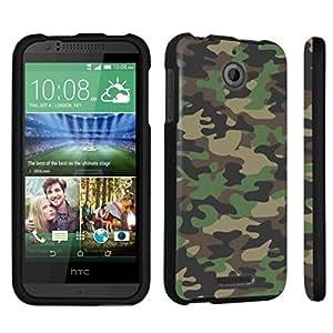 DuroCase ? HTC Desire 510 Hard Case Black - (Brown Camo) by icecream design