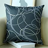TRAVEPPY Cushions Decorative Pillow Cotton Square European Style Throw Pillow Cushion for Car Sofa Home Decor 18