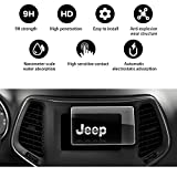 YEE PIN 2018 Jeep Grand Cherokee Uconnect 7 inch 5R Angle Anti-Explosion Car Navigation Screen Toughened Film, in-Dash Screen Protector