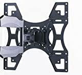 Invision® TV Wall Mount Bracket - New Slim Line Design With Cantilever Arm Tilt & Swivel Feature For 26 - 55 inch TV Screens, Fits LED, LCD & Plasma, Max VESA 400mm x 400mm (Please check TV VESA Mounting Holes Before Purchase) Bild 8