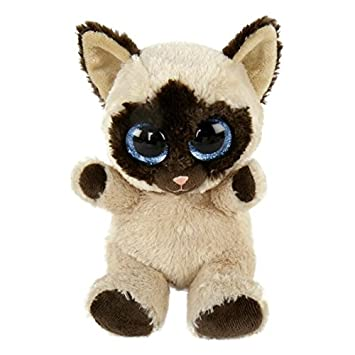 La hugsters – Peluche/Peluche – Gato Naila con ojos grandes Abalorios glubsch – #