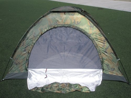 Camouflage Camping Tent for 2 Person or 3 Person Tent 3tent