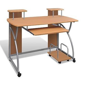 Mputer - Mesa de Ordenador portátil Enrollable con Bandeja para ...