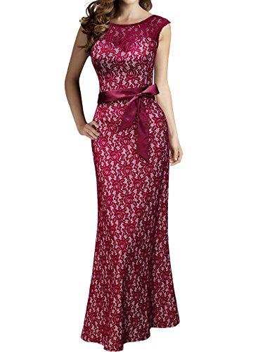 Miusol Womens Elegant Sleeveless Bridesmaid