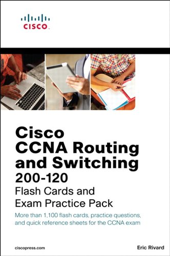 CCNA Routing and Switching 200-120 Flash Cards and Exam Practice Pack: Cis Rou Swi 200-12 Pk ePub_1 (Flash Cards and Exam Practice Packs)