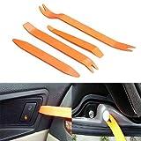 NarutoSak Auto Door Clip Panel Trim Removal Tool Kits for Car Dash Radio Audio Installer Pry Tool 4Pcs