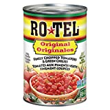Rotel Salsa Original - Finely Chopped Tomatoes & Green Chilies, 12 Count