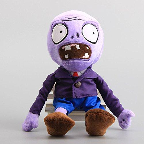 Pirate Zombie Purple Pirate Seas 12 Inch Toddler Stuffed Plush Kids Toys PVZ (Plants Zombies Ds Vs)