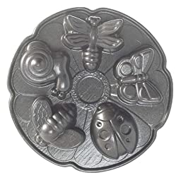 Nordic Ware Pro Cast Garden Bug Cakelet Pan