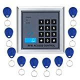 Import-Express AD2000-M RFID Proximity Entry Door Lock Access Control System with 10 Key Fobs