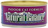 Natural Balance Canned Cat Food, Indoor Formula, 24 x 6 Ounce Pack, My Pet Supplies