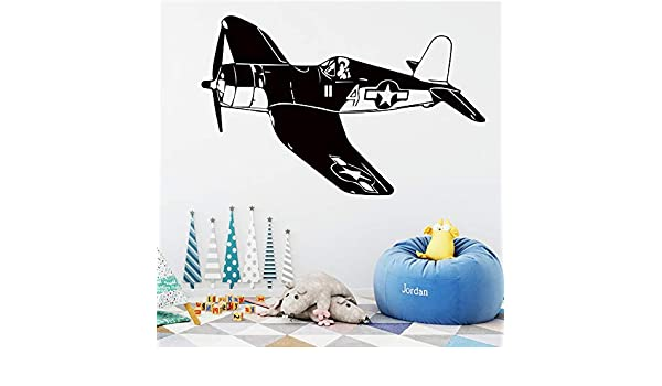 GJQFJBS Kid air wall fighter vinilo etiqueta de la pared sala de ...