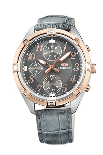 ORIENT Fashionable Quartz Chronograph Ladies Watch UY04005A