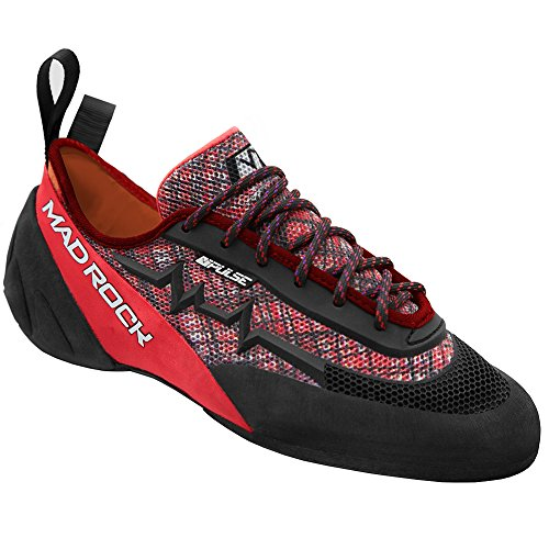 Mad Rock Pulse Negative Climbing Shoe Red/Black, 11.0
