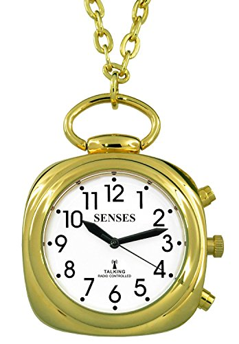 ATOMIC Talking Watch - Sets Itself SENSES Women Beautiful Trendy Gold tone Talking Pendant (SRTKP61-2)