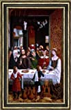 Master catholic Kings The Marriage at Cana - 16.1'' x 24.1'' Framed Premium Canvas Print