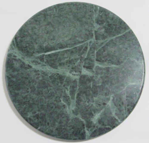 Round Green Marble : Round quot dark green marble cheese plate trivet buy