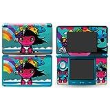 RAINBOW GIRL Nintendo 3DS Vinyl Skin Decal Sticker (Matte)+ Free Screen Protector Set