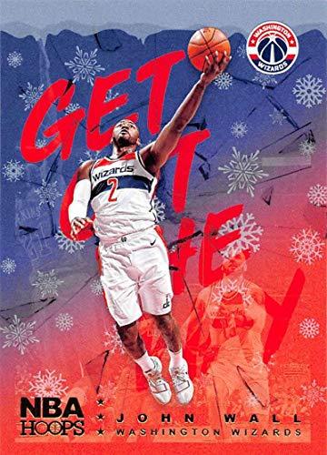 2018-19 Panini NBA Hoops Get Out The Way Winter/Holiday/Christmas #4 John Wall Washington Wizards Official Basketball Card