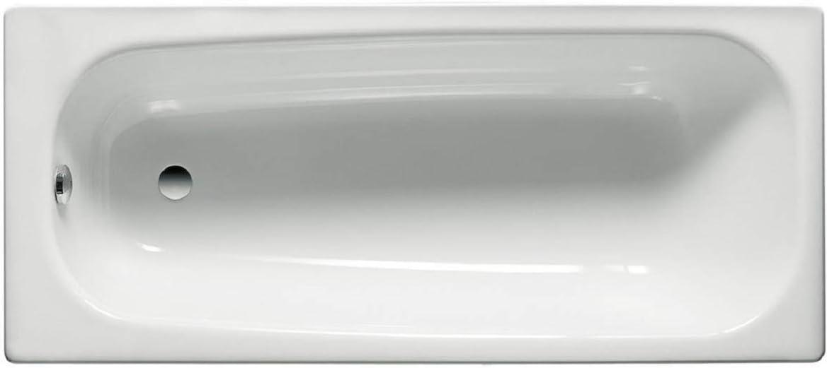 Roca A235960000 - Bañera de acero rectangular