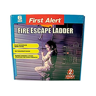 Mayday Emergency Survival 2-Story Fire Escape Ladder