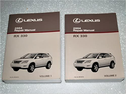 2004 lexus rx330 repair manuals mcu33 38 series 2 volume set 2004 lexus rx330 repair manuals mcu33 38 series 2 volume set toyota motor corporation amazon books fandeluxe Images