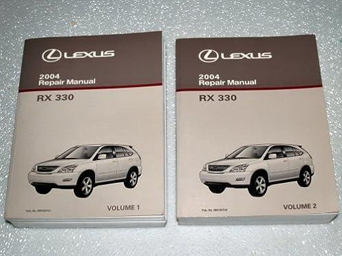2004 lexus rx330 repair manuals mcu33 38 series 2 volume set rh amazon com 2004 lexus rx330 repair manual pdf 2004 lexus rx330 service manual download