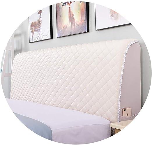 Funda protectora antipolvo para cabeceros de cama elástica ...