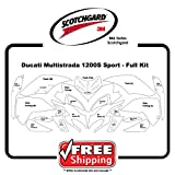 Kits for Ducati Multisrada 1200s Sport - 3M 846 Scotchgard- Paint Protection