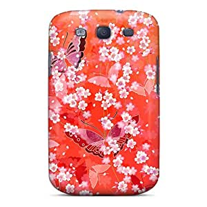 Top Quality Rugged Sakura Spring Case Cover For Galaxy S3