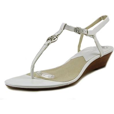 e604081f46b3 MICHAEL Michael Kors Nora Sandal White Size 8.5 M