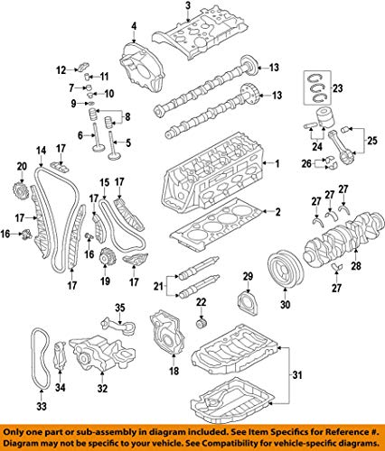 Volkswagen WHT 000 033 D, Engine Crankshaft Thrust Washer