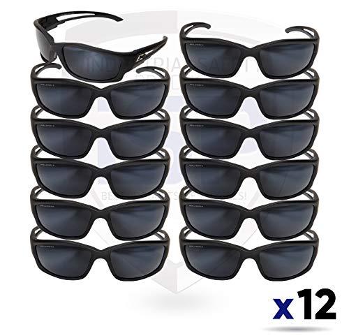 (Edge Eyewear GTSK21-G15-7 Kazbek Polarized G-15 Silver Mirror Lens 12 PK)
