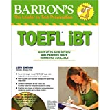 img - for Barron's Toefl IBT Review and Practice Tests 10 Cds 13th Edition book / textbook / text book