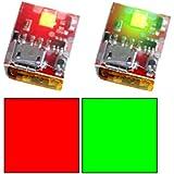 Red and Green Flytron STROBON Cree Strobe Lights for Drones Like the DJI Mavic, Phantom, Inspire, Matrice, and Spark