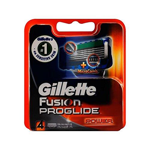 Gillette Fusion Proglide Power Blade 4s (W)