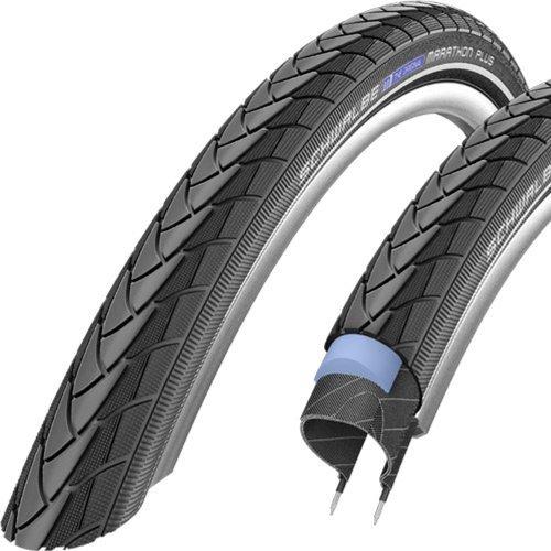 Schwalbe Marathon Plus HS 440 Road Bike Tire (700x25, Allround Wire Beaded, Reflex)
