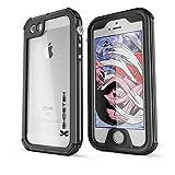 iPhone SE Waterproof Case, Ghostek® Atomic 3 Series for Apple iPhone 5, 5S & SE | Underwater | Shockproof | Dirt-proof | Snow-proof | Aluminum Frame | Adventure Ready | Ultra Fit | Swimming (Black)